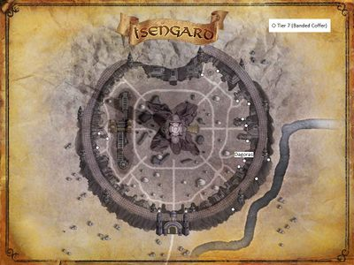 map of Isengard Artifacts