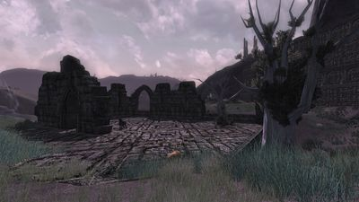 Within the ruins of Glírost