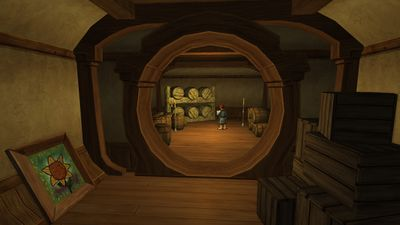 Storeroom of the Green Dragon