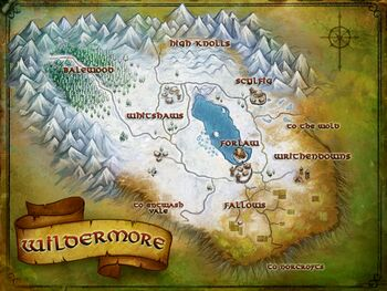 Map of Wildermore