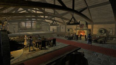 Excellent Bree Town Hunting Lodge Lotro Wiki Com Largest Home Design Picture Inspirations Pitcheantrous