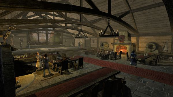 Bree-town Hunting Lodge Hangout for the Men of Bree