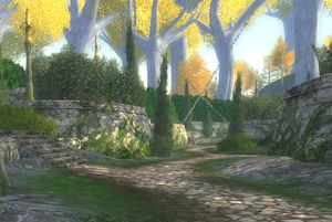 Entrance to The Vineyards of Lórien