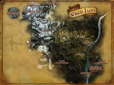 Map of Ered Luin