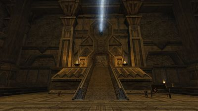 Main entrance of Thorin's Hall