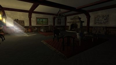 The bedroom in Boffin Manor
