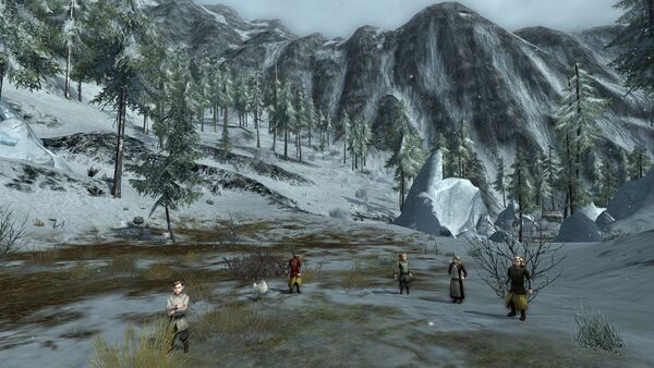 The Battle at Frostbluff