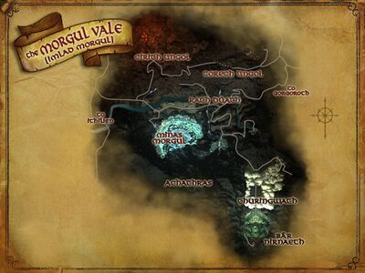 Map of Morgul Vale