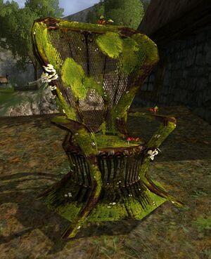 Item Mossy Wicker Chair Lotro Wiki Com