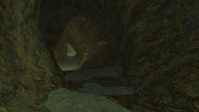 Tunnel to Ulkrank's throne