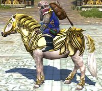 Image of Steed of the Alliance of the Third Age (Pony)