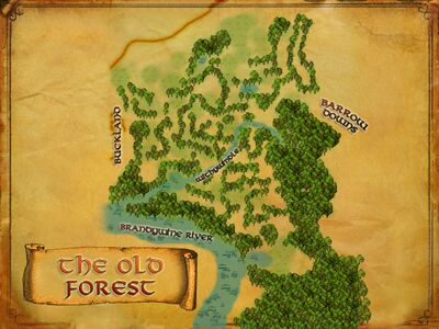 Map of Old Forest