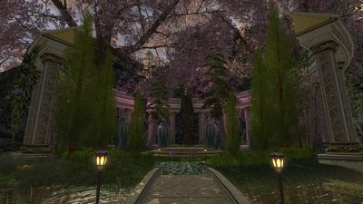 Beautiful shrine/garden in southern Celondim