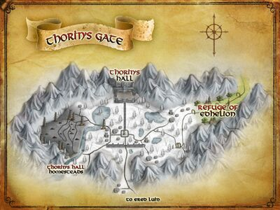 Map of Thorin's Gate