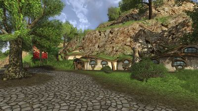 Hobbit smials near the North Gate of Bree