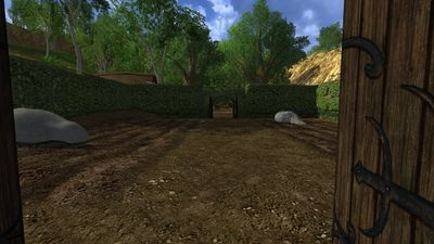 Odo's eastern gate to the farm