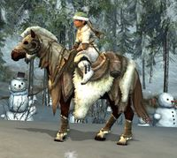 Image of Snow-beast Steed (Pony)