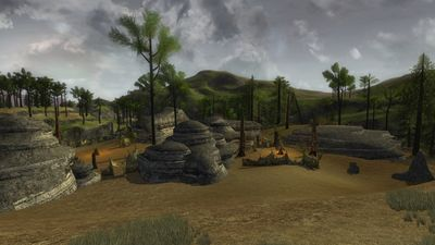 The goblin camp in southern Annúndir