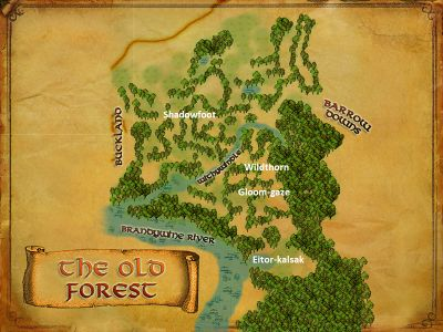 Old Forest Named Creatures