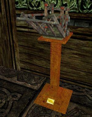 item dwarf drawbridge diorama   lotro wiki