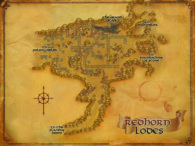 Map of Redhorn Lodes
