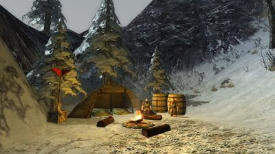 The Camp of Sigrun and Greip