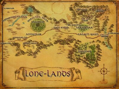 Map of The Lone-lands