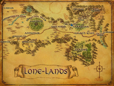 Lone Lands with POIs