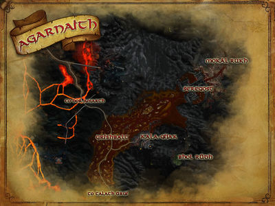Map of Agarnaith