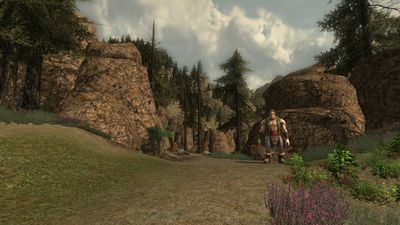 Entrance to the Stonemere in northern Giant Valley