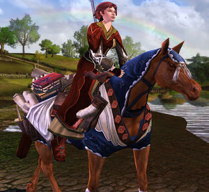 Steed Of The Lore Master Lotro Wiki Com